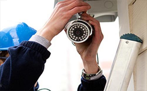 instalación o reparación de sistemas de cámaras de seguridad