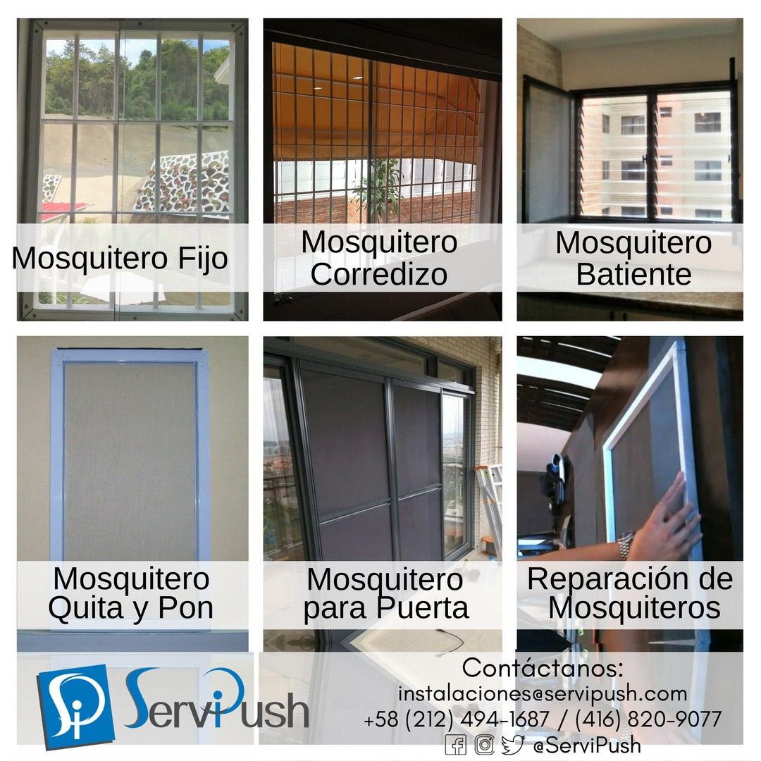 Instalación O Reparación Mosquiteros Para Ventanas Y Puertas - en ...