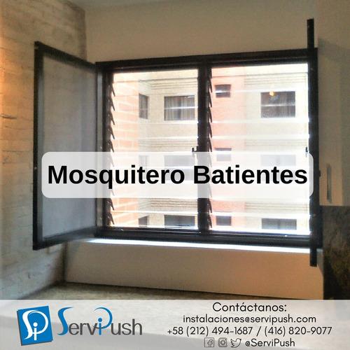 instalación o reparación mosquiteros para ventanas y puertas