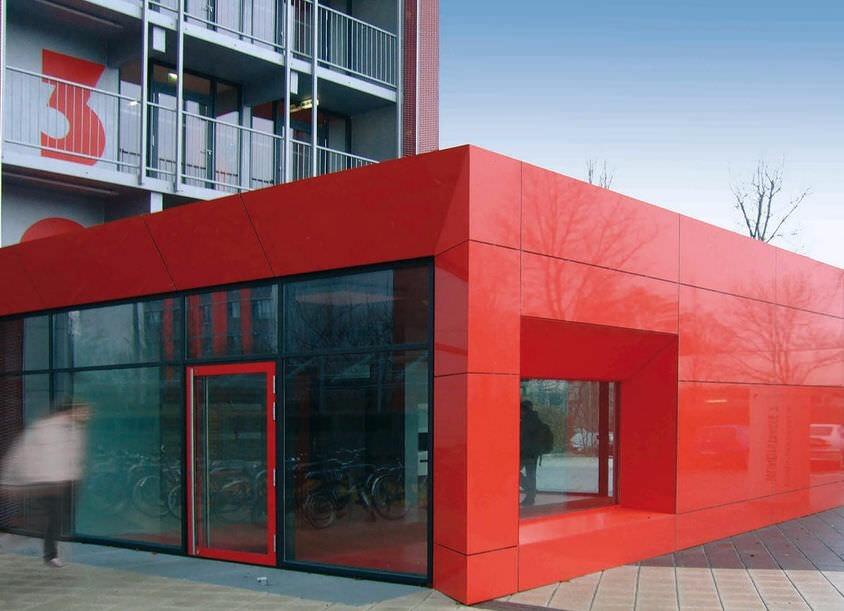 Instalacion Paneles D Aluminio Compuesto Fachadas Columnas