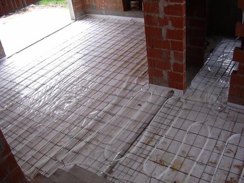 instalación piso radiante a solo $149 x m2