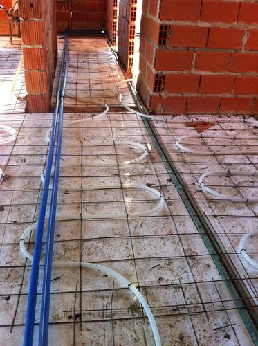instalación piso radiante a solo $89 x m2 todo incluido