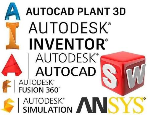 instalación programas autodesk y proyectos