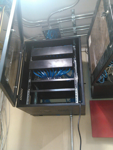 instalación red cableada utp jack, rj55,  s/10 por punto