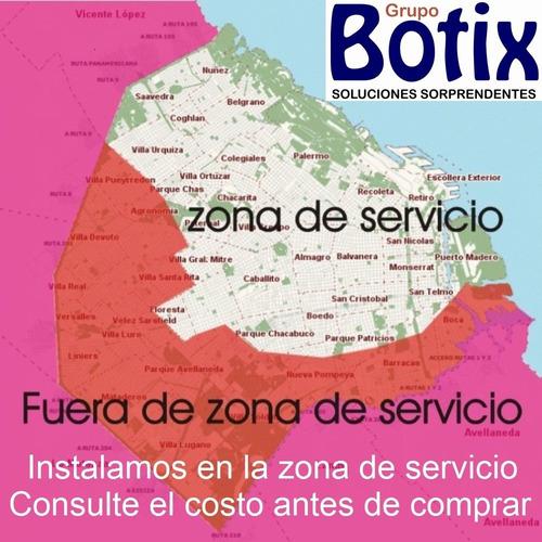 instalacion red con cotizacion previa - ver zona de servicio