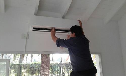 instalación reparación aire acondicionado  split en zona sur