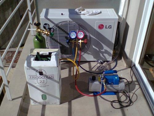 instalacion reparacion aires acondicionados matriculado