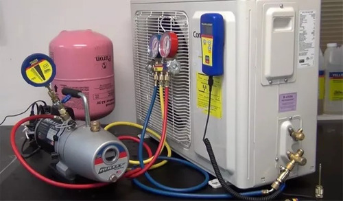 instalación, reparación, mantenimiento de aire acondicionado
