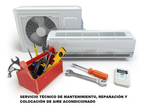 instalación reparación mantenimiento de aires acondicionados