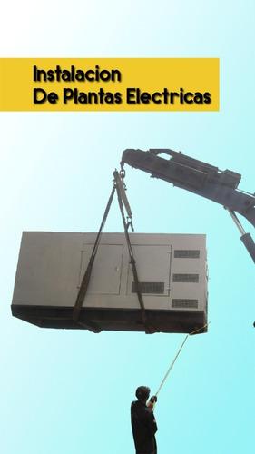instalacion reparacion plantas electricas
