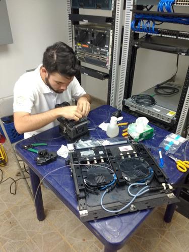 instalacion, reparacion y certificacion de fibra optica