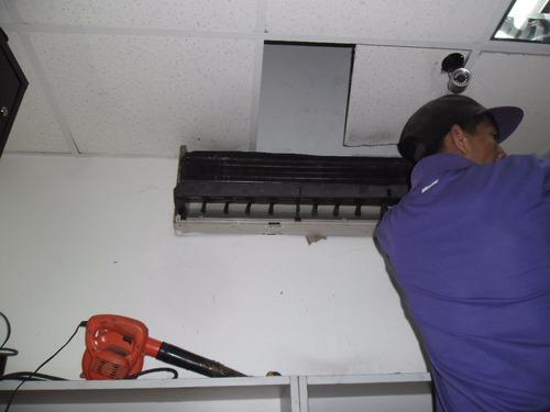 instalación reparación y mantenimiento aires acondicionados