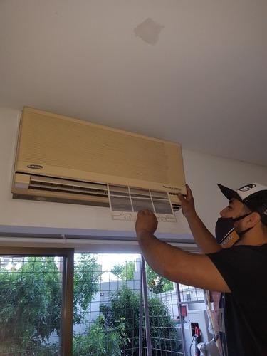 instalación, reparación y mantenimiento de aires y heladeras