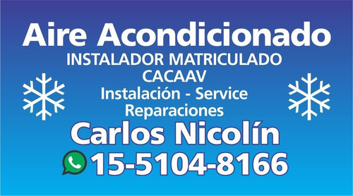 instalacion service aire-split z norte matriculado inverter