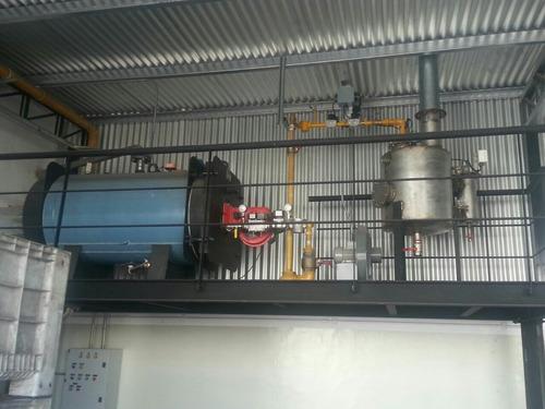 instalación service repuestos de calderas y montacargas.