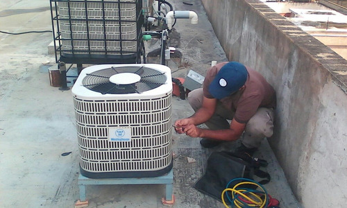 instalación servicio aire acondicionado