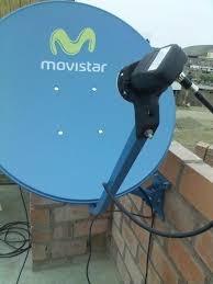 instalacion servicio tecnico antena satelital movistar tv