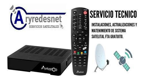 instalacion, servicio tecnico fta, directv prepago y tda