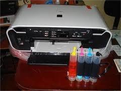 instalación sistema continuo de tintas en todas las canon