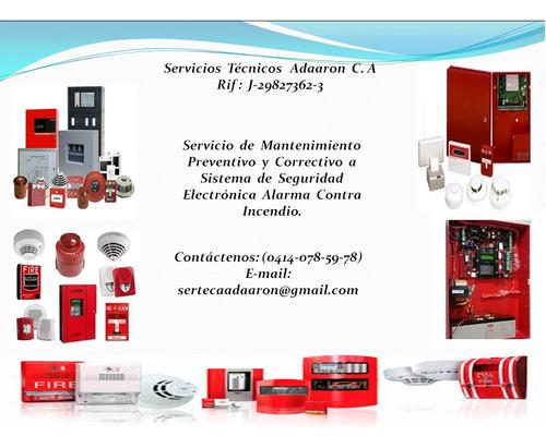 instalación sistema de seguridad y mantenimiento preventivo