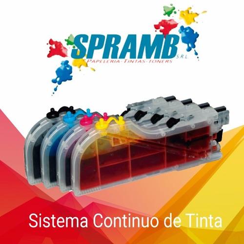instalación sistema de tintas continuos - ofertas