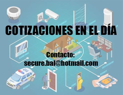 instalación sistemas de seguridad cámaras sensores