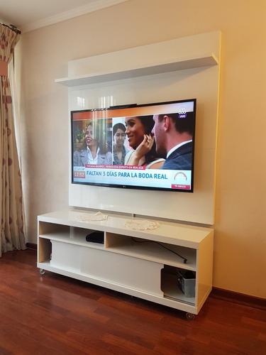 instalación soporte tv, plasma, lcd, led, curvas,oled, qled.