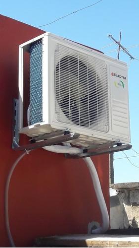 instalación split aire acond matriculado zona sur caba