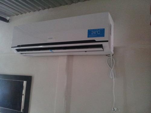 instalación split aire acondicionado matriculado carga d gas