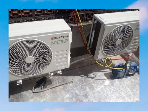 instalacion split aire acondicionado reparacion matriculado