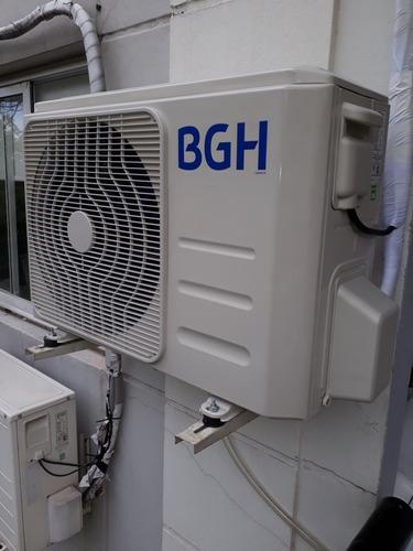 instalación split matriculado r-410 inverter - zona flores