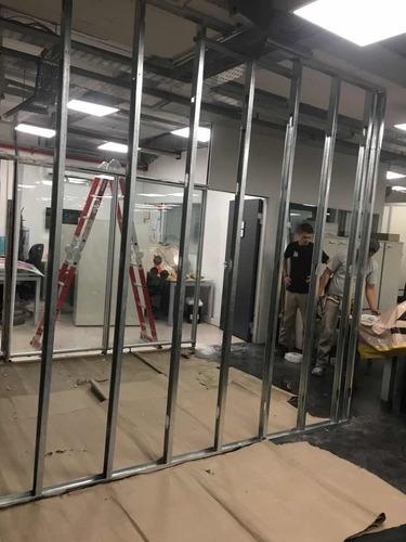 instalación tabiques (paredes)durlock,drywall calidad gtia.
