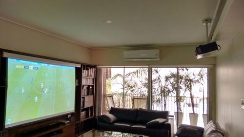 instalacion tv-lcd-led-proyector-pantalla-hometheater-audio