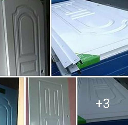 instalación venta de puertas de polimetal