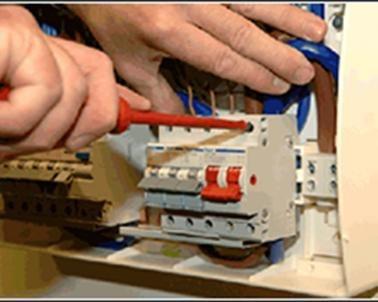 instalación ventiladores de techo & electricidad gral.