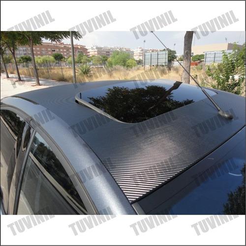instalacion vinil negro mate - lija - fibra de carbono