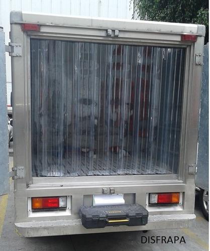 instalacion vta cortina pvc  camiones  furgones refrigerados