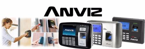 instalación y adiestramiento biometricos anviz