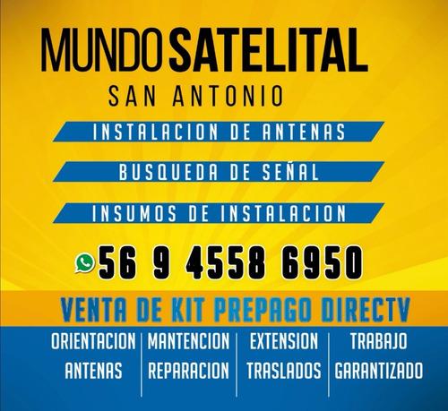 instalacion y búsqueda de señal satelital