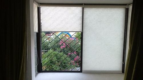 instalación y confección cortinas roller / tienda krearoller
