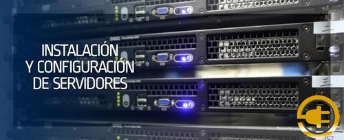 instalacion y configuración en general del servidor