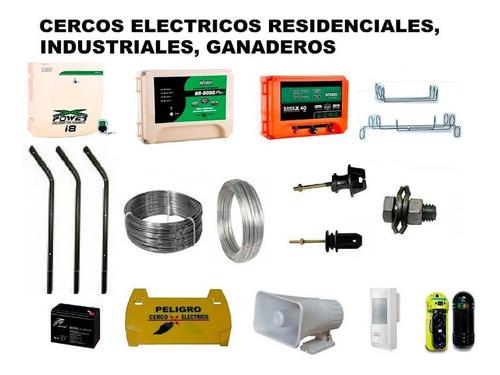 instalación y mantencion cerco eléctrico