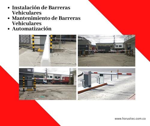 instalación y mantenimiento de barreras vehiculares