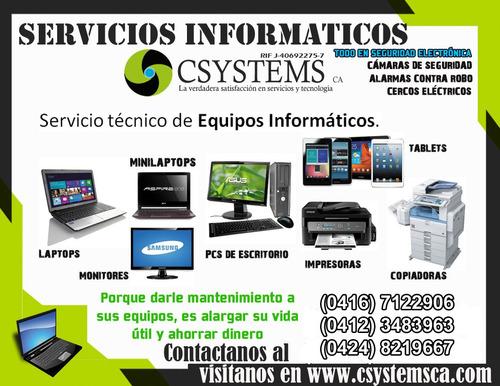 instalación y mantenimiento de cámaras, alarmas, cercos, gps