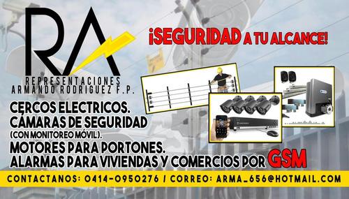 instalación y mantenimiento de cercos electricos . cctv .