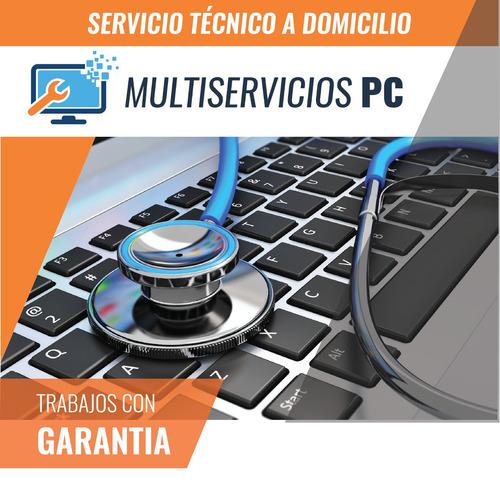 instalación y mantenimiento de redes informáticas. pc notebo