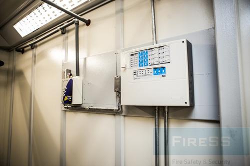 instalación y mantenimiento de sistema contra incendio