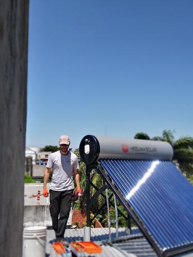 instalación y mantenimiento de termotanques solares