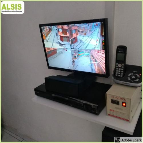 instalación y mantenimiento en cámaras de seguridad