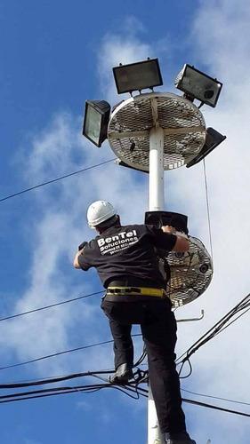instalación y mantenimiento.cámaras alarmas x-28, vecinales